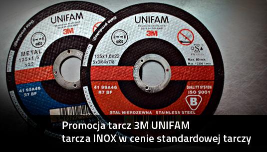 Promocja tarcz 3M unifam