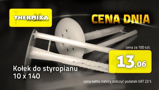 Kołek do styropianu 10x140 Thermixa