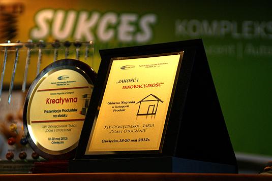 Nagroda Sukces-Zamocowania produkt