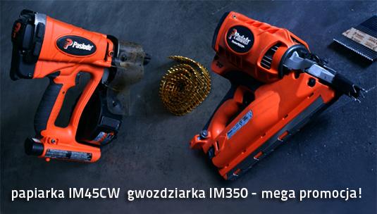 narzędzia gazowe paslode gwozdziarki im350 im45cw cena