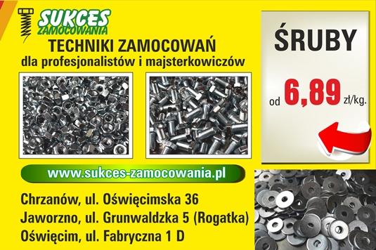 Zaktualizowano Śruby sklep cena od 6,89 zł brutto/kg Techniki Zamocowań pro HZ57