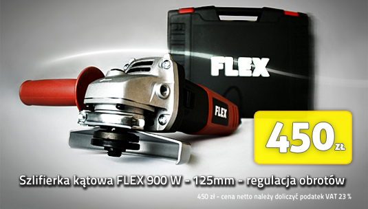 szlifierka kątowa z regulacją obrotów elektronarzędzia FLEX cena pro