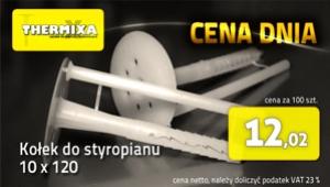 Kołki do styropianu 10x120 łącznik izolacji cena dnia promocja