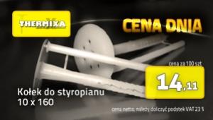 Kołki do styropianu 10x160 łącznik izolacji cena dnia promocja