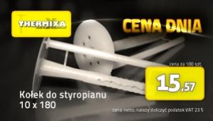 Kołki do styropianu 10x180 łącznik izolacji cena dnia promocja