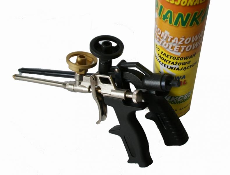 Niskoprężna piana montażowa - pistoletowa super cena + gratisy