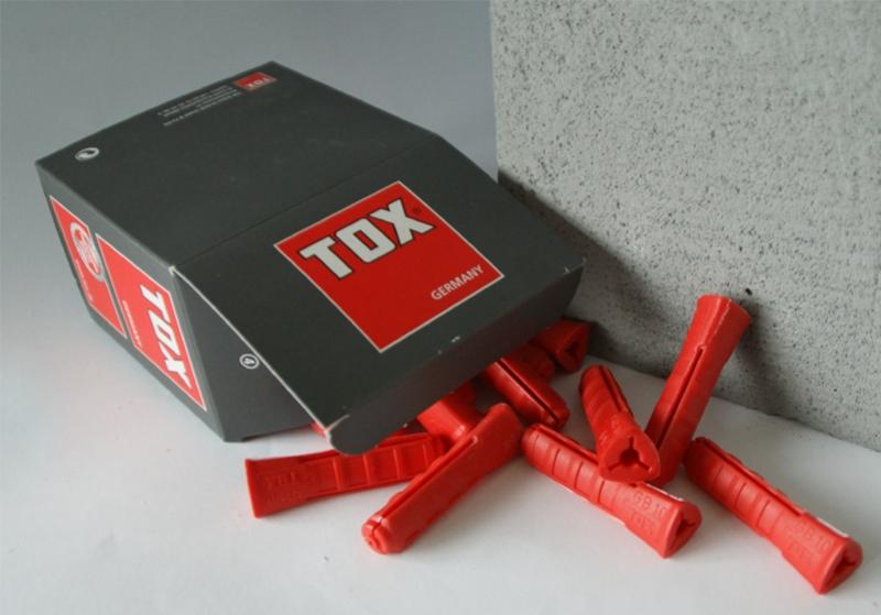 Kołki do gazobetonu GB TOX