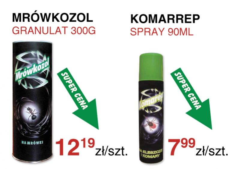 Muchozol Mrówkozol - środek na komary - super cena