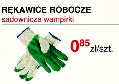 Rękawice robocze i taracze do cięcia stali super ceny