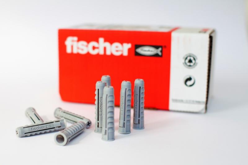 Fischer - kotwy, kołki, wkręty - promocja