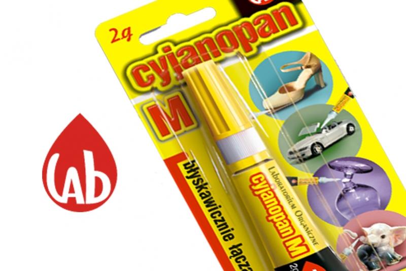 Kleje LAB super ceny - Cyjanopan, Butapren