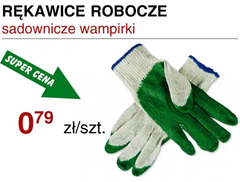 Rękawice robocze najlepsze ceny w sieci sklepów Sukces