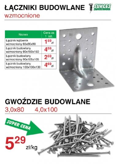 Budowlane łaczniki ciesielskie - cennik sklep - oferta promocyjna