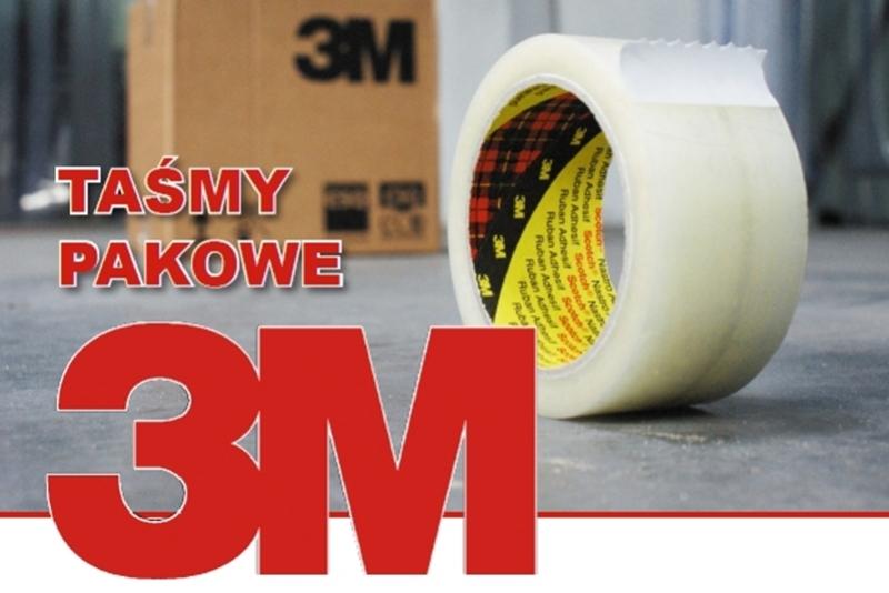 Taśmy pakowe - producent 3M promocja
