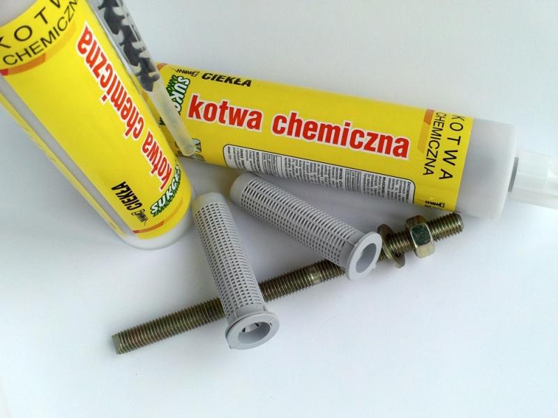 Kotwy chemiczne cena od 25,90