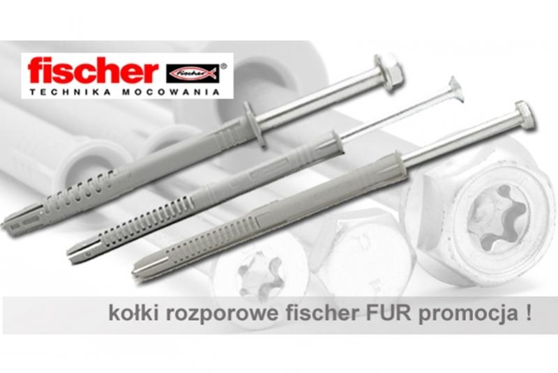 Fischer FUR - kołki rozporowe ramowe