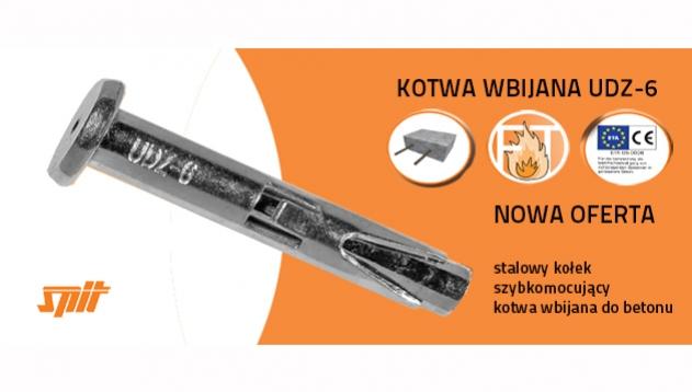 Metalowe kolki do wbijania - kotwy stalowe sufitowe