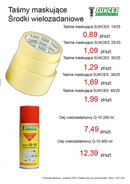 Taśma malarska cena od 0,89 zł szt.