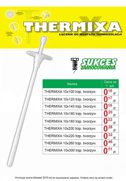 Kołki do styropianu cennik producent łączników do montażu termoizolacji