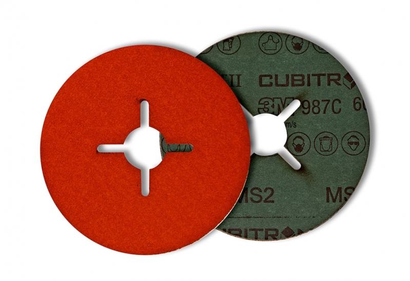 Dysk fibrowy do stali nierdzewnej i aluminium 3M Cubitron II 987C 115mm P60