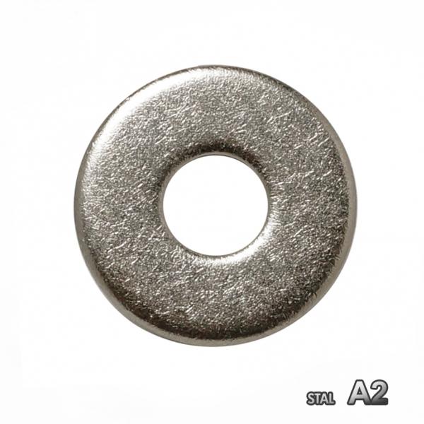 Podkładka poszerzana nierdzewna A2 DIN 9021 M 4 /100 szt