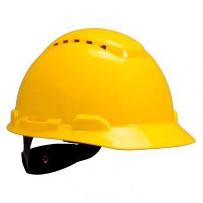 Hełm ochronny H-700N-GU,żółty .,Rachet 3M