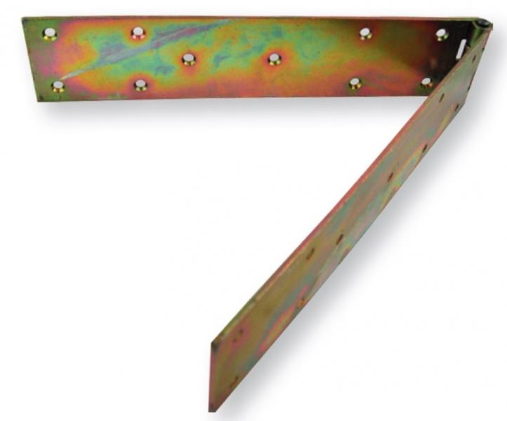 Zawias pasowy 100x70 mm/gr.2,5mm fi 8 /4szt