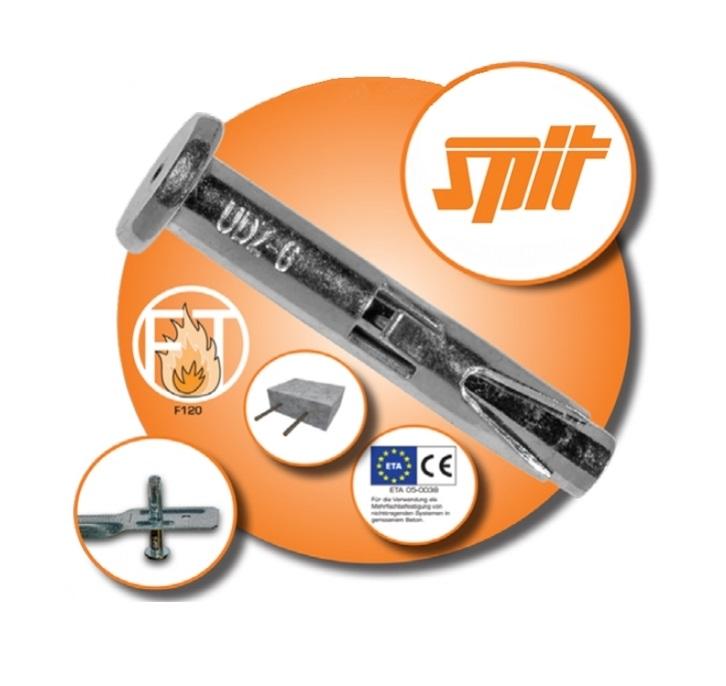 Spit UDZ 6   6x42/5  metalowy kołek gwoździowy / 100szt