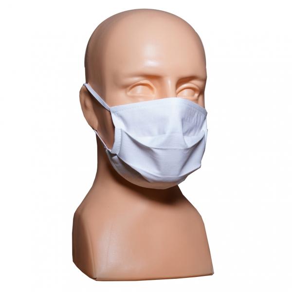 Maska ochronna - maseczka bawełniano flizelinowa 3 W BFF owerlok