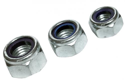 Nakrętka z wkładką poliamidową M 4/100sz