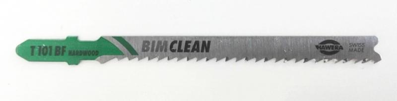 Brzeszczoty Hawera BIM-Clean T101BF 2,7x100 do twardego drewna /5szt