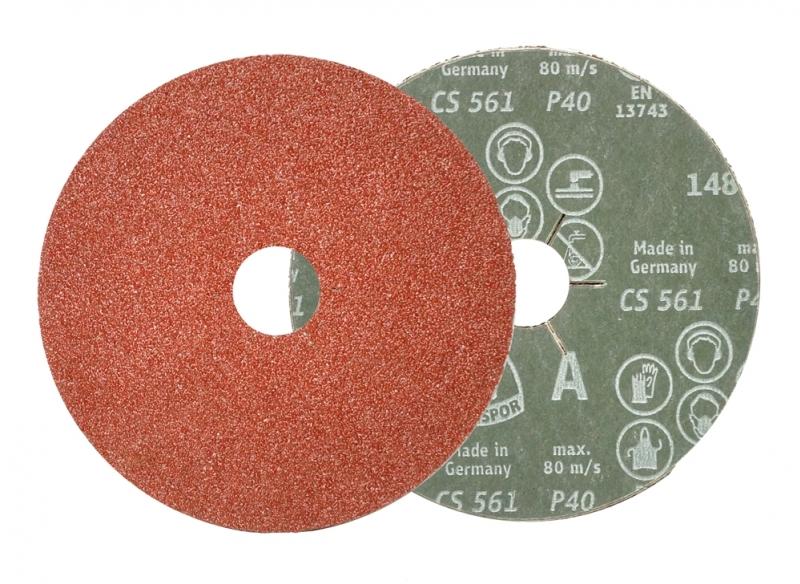 Krążek fibrowy 115mm  16 Klingspor CS 561 /25 szt